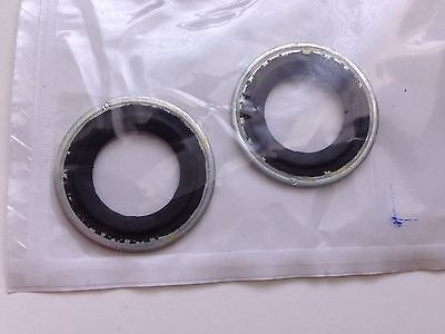 GENUINE HOLDEN Commodore SS AC AIRCON COMPRESSOR O RING SEALS x2 VT VX VU VY VZ