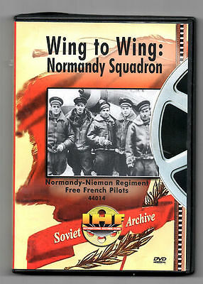Wing to Wing: Normandy-Nieman Regiment, free French Pilots - soviet archive dvd
