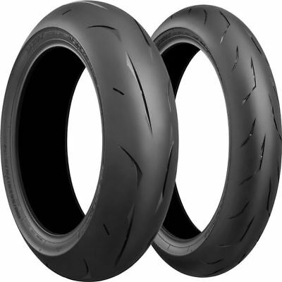 120/70Zr 17, 200/55Zr 17 Bridgestone Battlax Rs10 Front Rear Tire Kit - 2 Tires
