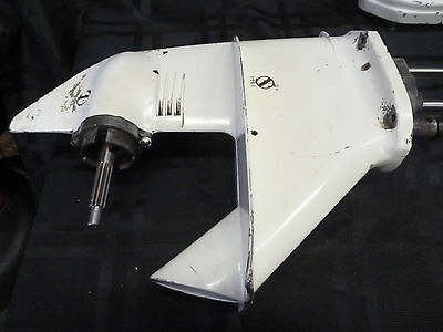 1969 Chrysler 7Hp 704 Lower Gearcase Unit Assembly Motor Outboard Boat