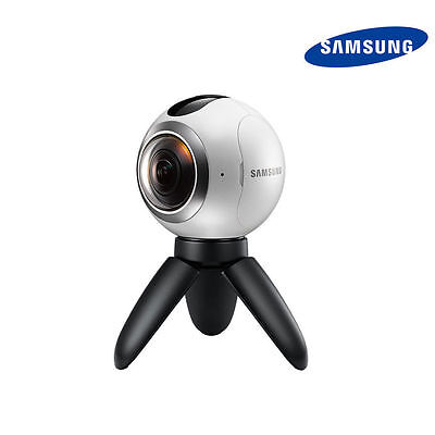 New Samsung Gear 360 SM-C200 Cam VR Camera Dual Lens Compatible For GalaxyPhones
