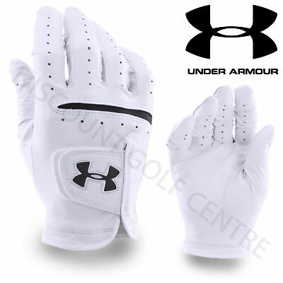 Under Armour 2017 Men's UA Strikeskin Tour Golf Glove LH Jordan Spieth - White