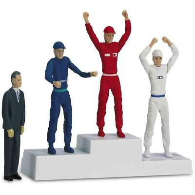 Carrera 21121 - Podium with 4 Figures New & Orig. Box
