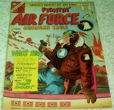 Fightin' Air Force 51, VF- (7.5) 1965 Charlton 2nd American Eagle 40% off Guide!