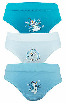 Disney Frozen Olaf 3 Pack Boys Pants / Knickers