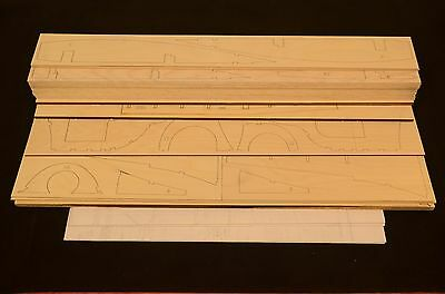 Giant Scale MARTIN 130 CHINA CLIPPER Laser Cut Short Kit & Plans 98 in WS