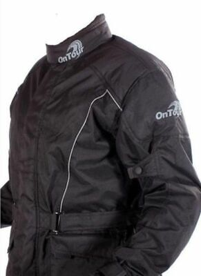 OnTour Motorcycle Waterproof Textile Lined Bike-It Ride Jacket SALE PRICE