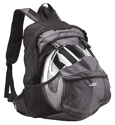 JDC Motorcycle Motorbike Waterproof RUCKSACK With Helmet Holder/Carrier