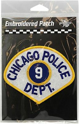 Vintage Chicago Police Department 9th District Patch 11708