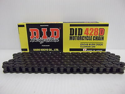 Yamaha DT125 LC1 (8 hole) 82-86 DID Motorcycle Drive Chain (428-118)