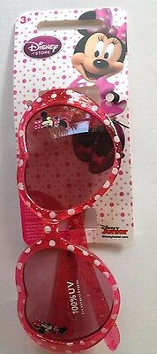 Minnie Mouse Pink Heart Sunglasses