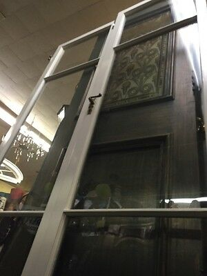 1930S Spanish Revival Style Glass French Doors24x83""
