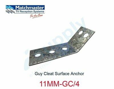 MATCHMASTER Guy Cleat Surface Anchor  11MM-GC/4