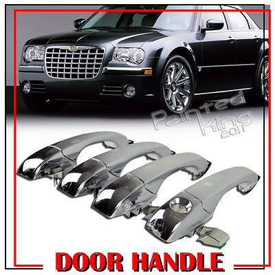 --For Chrysler 300 C 05-10 Dodge Magnum 05-08 Charger 07 Door Handle Chrome