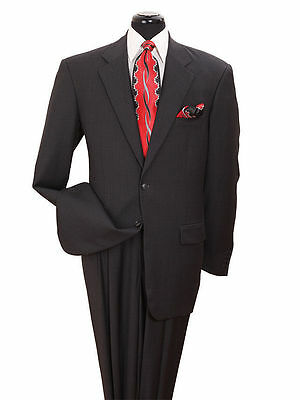 Men's Classic Suit 2button single breasted(comes with pants) by Milano BlacK 702