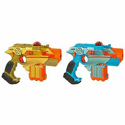 NEW 2-Pack Lazer Tag Phoenix LTX Tagger With Complete 2 Player System By Nerf