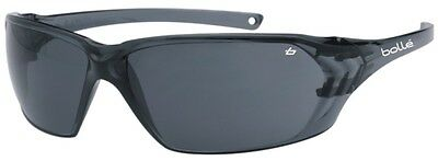 Bolle Prism Smoke Lens Cycling / Safety Glasses / Sunglasses + Bolle Neck Cord
