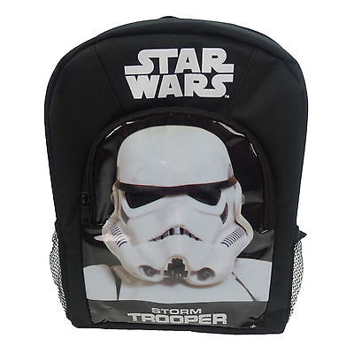 NEW OFFICIAL Star Wars Storm Trooper Boys Sports Backpack Rucksack School Bag