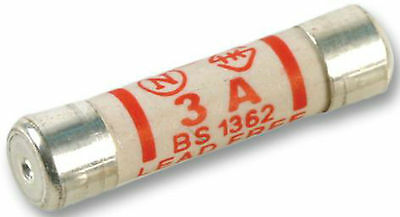 PACK OF 10X 5A 5 amp mains fuses suit standard house plug tops 230 ...