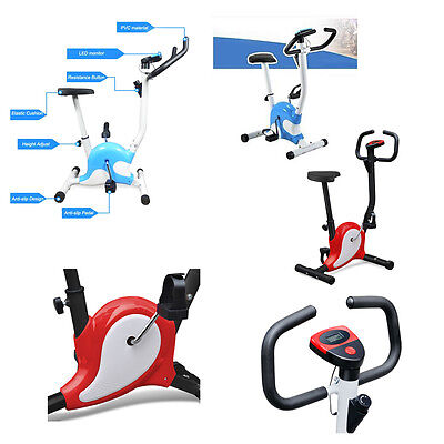 Exercise Bike Aerobic Training Cycle Fitness Cardio Workout Home Cycling Machine