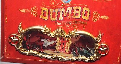 Disney WDI Dumbo Story Panel #4 Pyramid Of Pachyderms LE 200 Pin