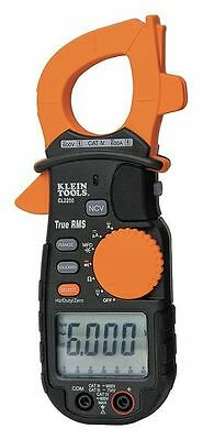 KLEIN TOOLS CL2200 Clamp Meter, 600A, TRMS, Digital, LCD