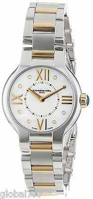 Raymond Weil Women's 5927-STP-00995 Two-Tone St. Steel and 18k Gold Diamond dial