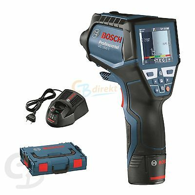 Bosch Thermo Detector Gis 1000 C Incl. Battery + Charger In L-Boxx 0601083301
