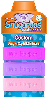 Personalized Baby Bottle Labels & Sippy Cup Labels (Pack of 3)