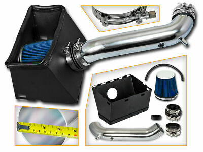 Cold Heat Shield Air Intake + BLUE Filter for 02-08 Ram 1500 5.7L 4.7L V8