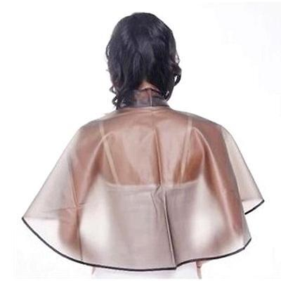 New Waterproof Translucent Salon Baking Oil Non-stick Cape Hair Dye Gown Perm