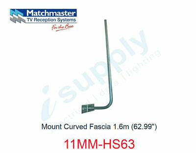 "MATCHMASTER Antenna Mount Curved Fascia 1.6m (62.99"")  11MM-HS63"