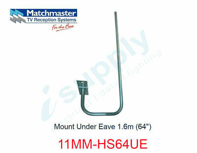 "MATCHMASTER Antenna Mount Under Eave 1.6m (64"")  11MM-HS64UE"