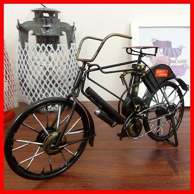 1917s Harley Davidson Bicycle Bike Vintage Retro Handmade Antique Replica