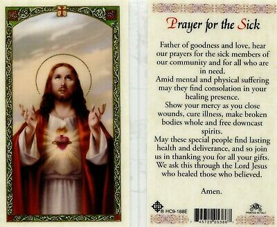 Prayer for the Sick - BOGO Buy 1 Get 1 free or mix and match using Add to Cart