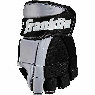 "Franklin Sports NHL SX Pro HG 1505 Street Hockey Gloves 12"" Inch Easy Flex Thumb"