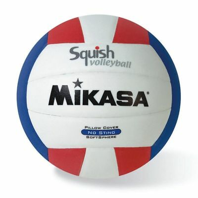 Mikasa All Purpose Volleyball Water Proof No Sting Pillow Cover Ball USA Colors