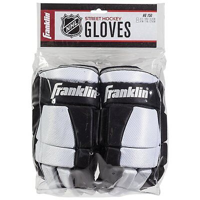 "Franklin Sports NHL Youth Junior Street Roller Hockey SX150 Gloves 10"" Inch"