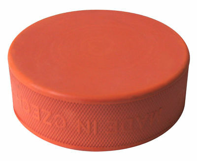 A&R Ice Hockey Puck Orange Training Hard Rubber Improves Shots And Skills TPUCKS