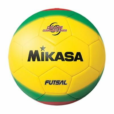 Mikasa America Futsal Ball, Low Bounce Soccer Ball-Size 4 Red Yellow New FSC450