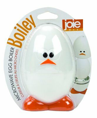 Joie Boiley Microwave Egg Boiler Gadget Face Cooking Quick Breakfast Deviled New