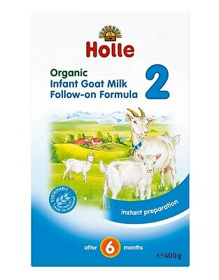 New 400g Holle Infant Goat Milk Formula Organic Baby Feeding No Sugar 6 Months+