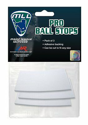 A&R Sports Major League Lacrosse Licensed Pro Ball Stops Bounce Reducer, 3 Pack
