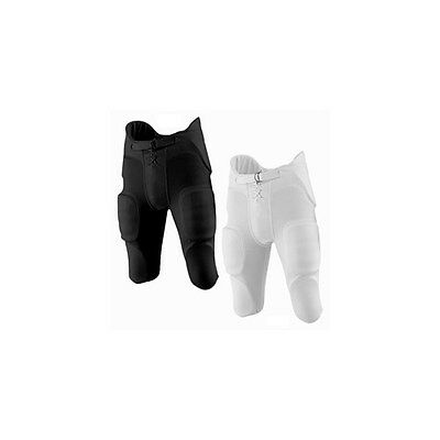 Martin Sports Youth Football Pants With Integrated Pads Black XXL FPADY-XXL-BLK