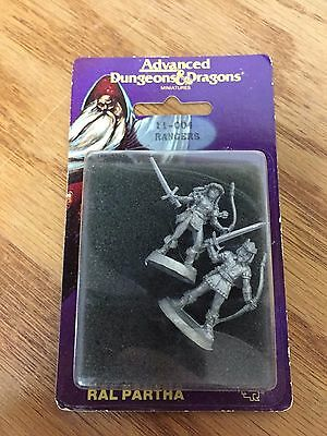 RANGERS #11-004 ~ Vintage 1988 Ral Partha AD&D Dungeons & Dragons miniatures