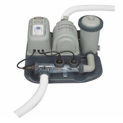 Intex Filter Pump and Saltwater System Combo
