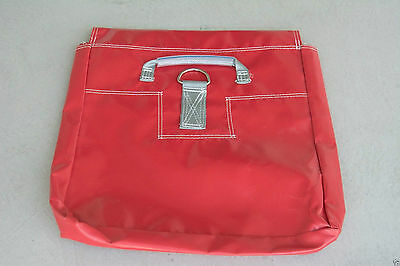 6 Red Sand Bag Covers Inflatable Bounce House Tent Anchor Vinyl Sandbags Cover