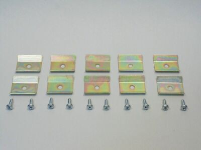 55 56 57 Chevy Nomad & Station Wagon Curved Quarter Glass Lower Retainer Clips