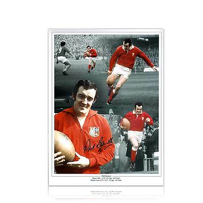 Phil Bennett Photo Signed Rugby Collectable Sport Wales Welsh Memorabilia