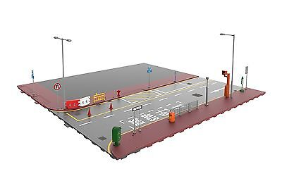 TINY Hong Kong City S1 Scale 1/64 HK Road Set Street Diorama Painted Model
